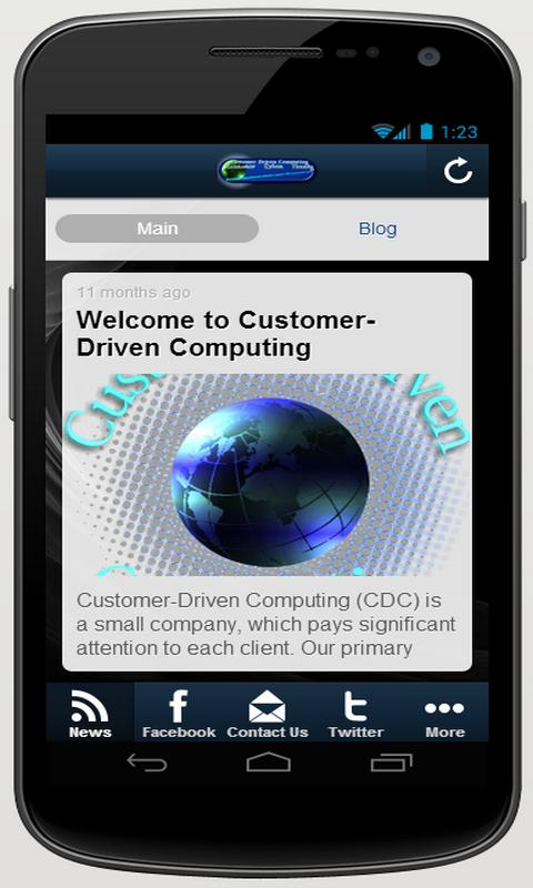 Customer-Driven Computing- screenshot