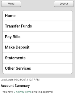 First Central Bank - Mobile - screenshot thumbnail