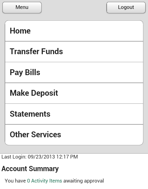 First Central Bank - Mobile - screenshot