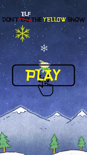 Dont Elf Yellow Snow Christmas