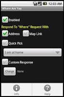 Screenshot of Where Are You