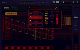 Screenshot of Oscilab Pro - Groovebox & MIDI