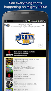 The Mighty 1090 AM- screenshot thumbnail