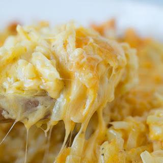 Cheesy Hashbrown Casserole.