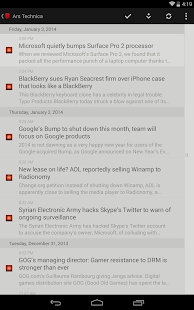 Press (RSS Reader) Screenshot 11