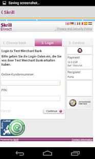 Skrill – Miniaturansicht des Screenshots