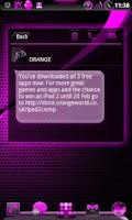 Screenshot of GOWidget AdeaPink ICS - Free