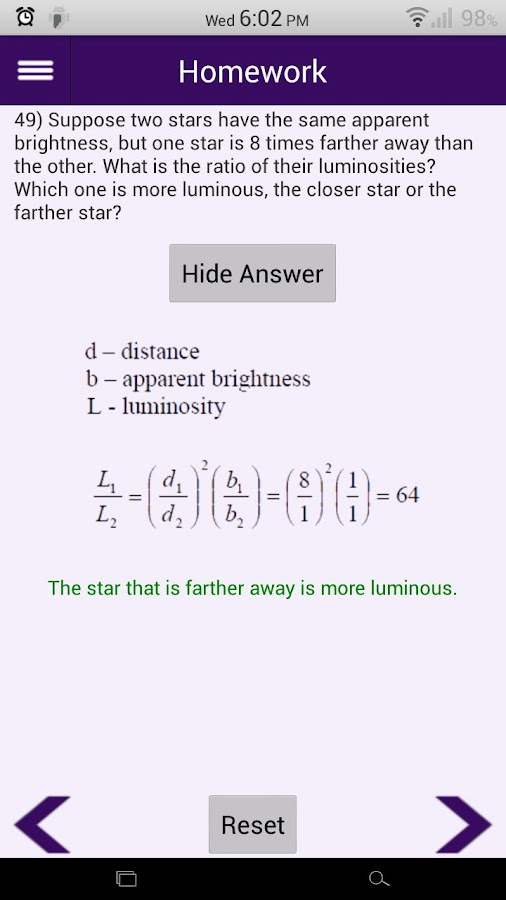 Intro to Astronomy Study Tool - Android Apps on Google Play