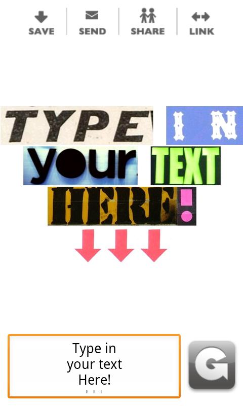 Typograffit - screenshot