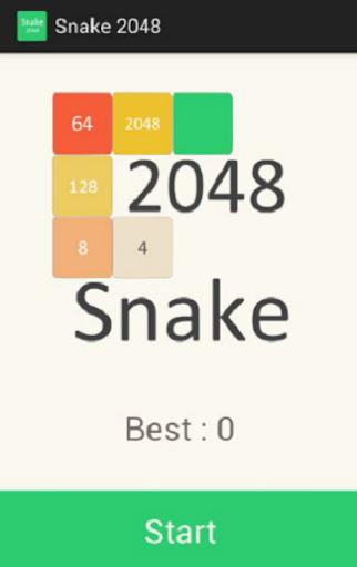 Snake 2048