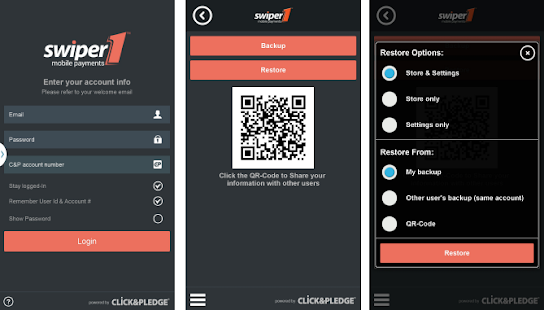 Swiper1 Credit Card Processing - screenshot thumbnail