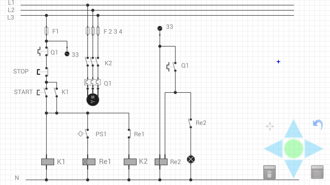 mPlan : Electrical diagrams - screenshot