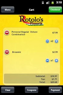 Rotolos Pizzeria- screenshot thumbnail