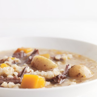 Beef, Barley, and Vegetable Stew Recipe
