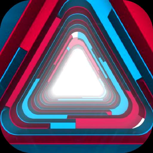 三角形動態壁紙 個人化 App LOGO-硬是要APP