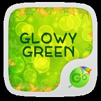 Glowy Green GO Keyboard Theme 1.65.18.57
