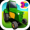 Tractor Farm Parking icon