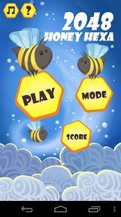 2048 Honey Hexa