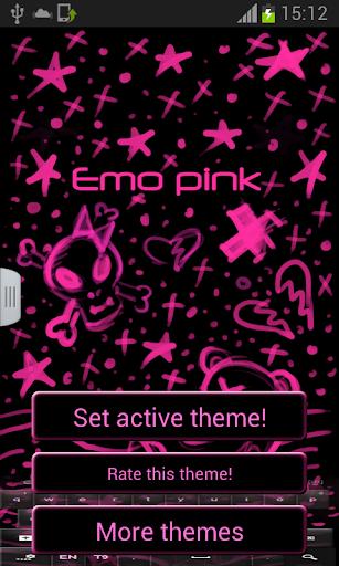 Emo Pink Keyboard