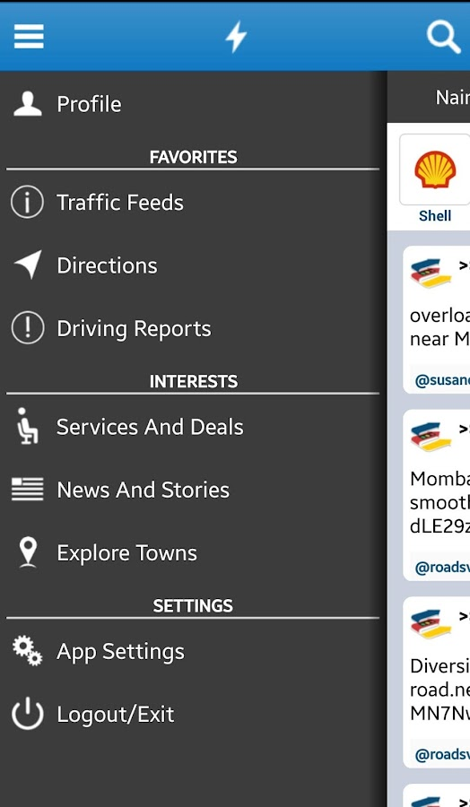 Ma3Route - screenshot