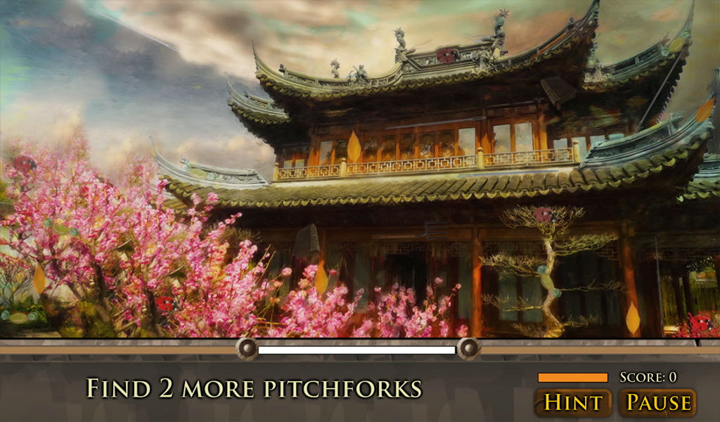 Hidden Object: Romantic Places - screenshot