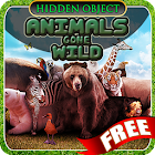 Hid Obj Animals Gone Wild Free icon