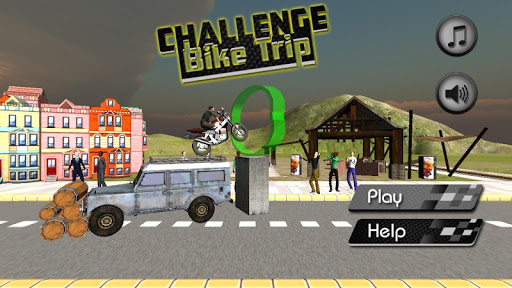 チャレンジ自転車旅行 - 3Dスタント