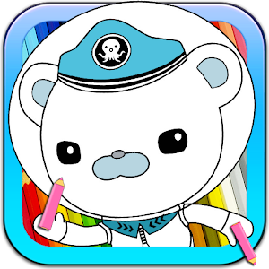 Octonauts Cartoon Coloring 休閒 App LOGO-APP試玩