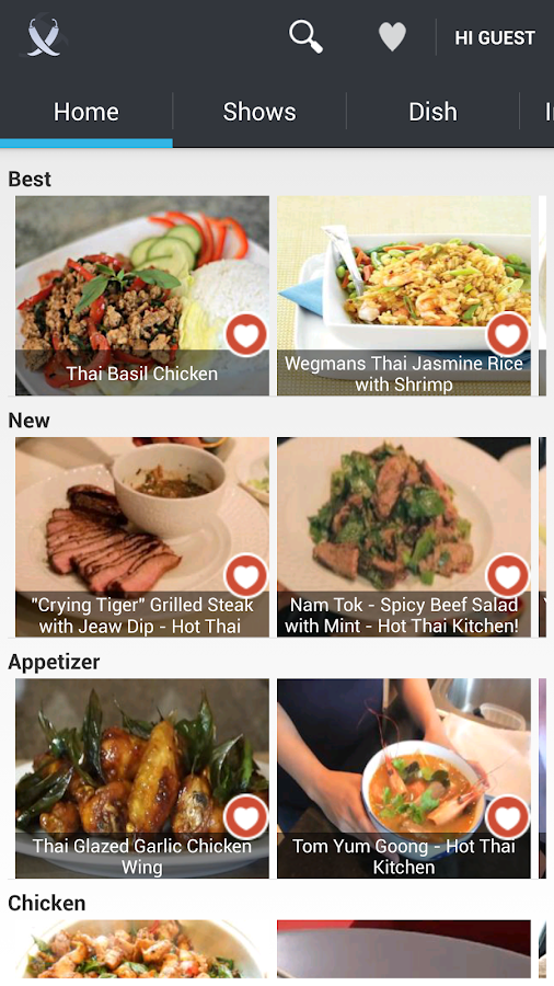 Thai Food by ifood.tv - screenshot