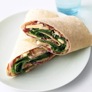 Prosciutto and Gruyere Wraps.