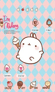 molang ice cream cone