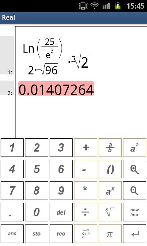 RealMath Calculator Free - screenshot