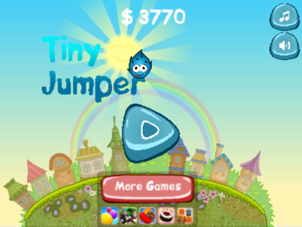 Tiny Jumper - Games for Kids - screenshot