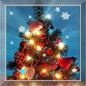 Christmas Tree Snowflakes LWP icon