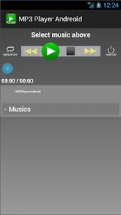 MP3 Player Andreoid- screenshot thumbnail