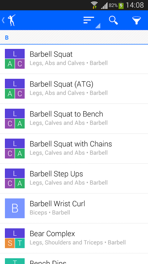 Progression, Gym & Fitness - screenshot