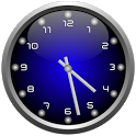 3d Glow Clock Widget Free icon