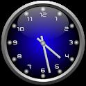 3d Glow Clock Widget Free icon