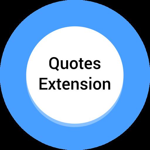 Quotes Extension for AlarmPad