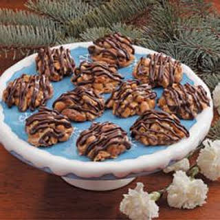 Nutty Caramel Clusters.