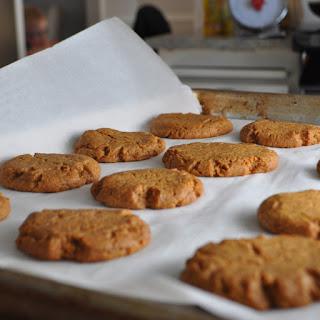 Peanut Butter Cookies the Healthier Way