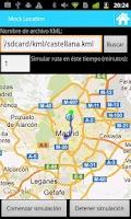 Screenshot of GPS Route Simulator