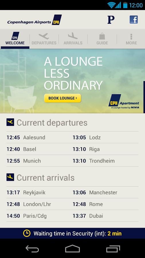 CPH Airport- screenshot