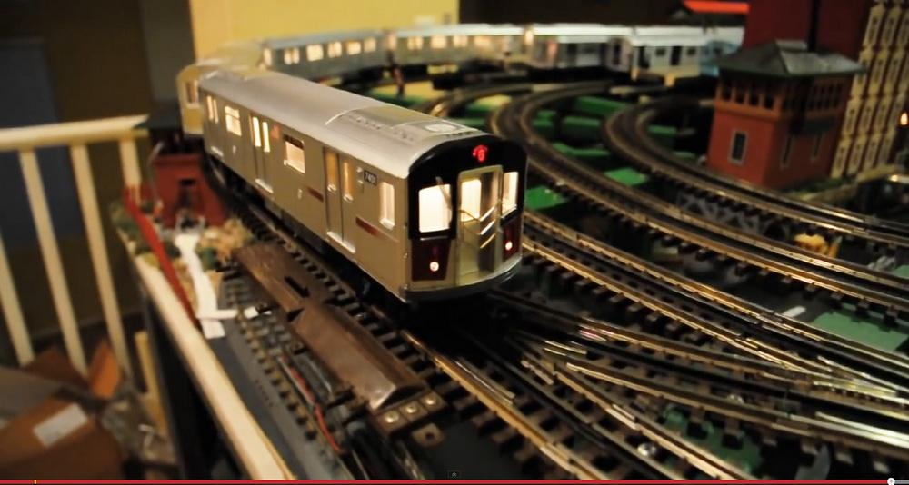 N Scale Track Design Model Train Sets Alberta 2014