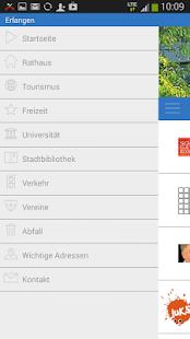 Erlangen - Die offizielle App - screenshot thumbnail