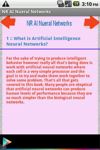 NR AI Nueral Networks