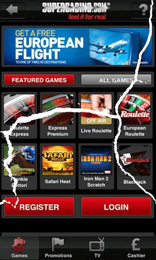 SuperCasino Best Casino Games