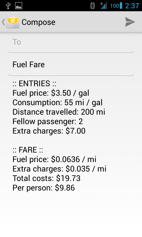 Fuel Fare- screenshot