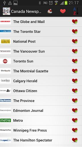 【免費新聞App】加拿大报纸和新闻-APP點子