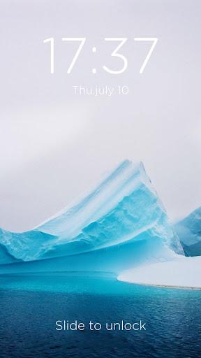 冰雪-DIY鎖屏主題